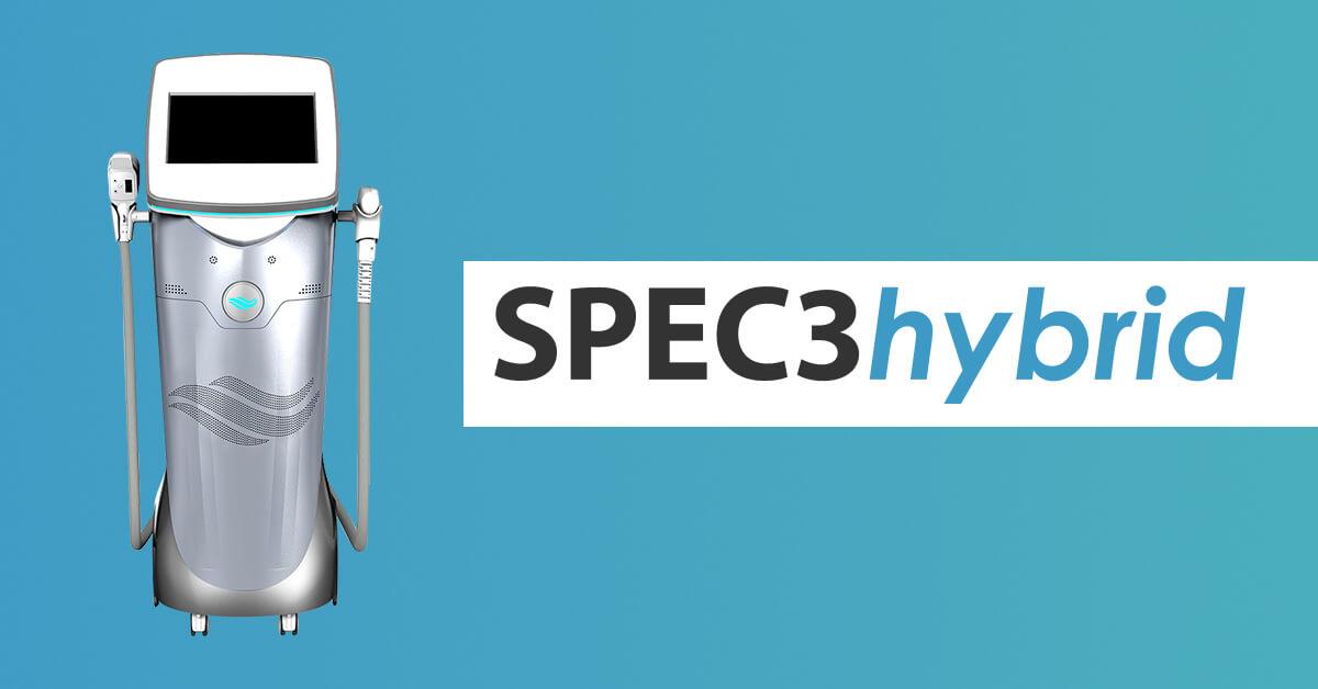 grafika z urządzeniem i napisem SPEC3hybrid