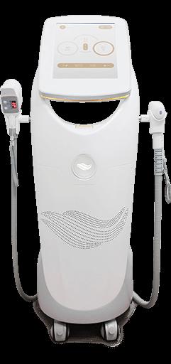 białe urządzenie SPEC3hybrid z dotykowym panelem sterującym